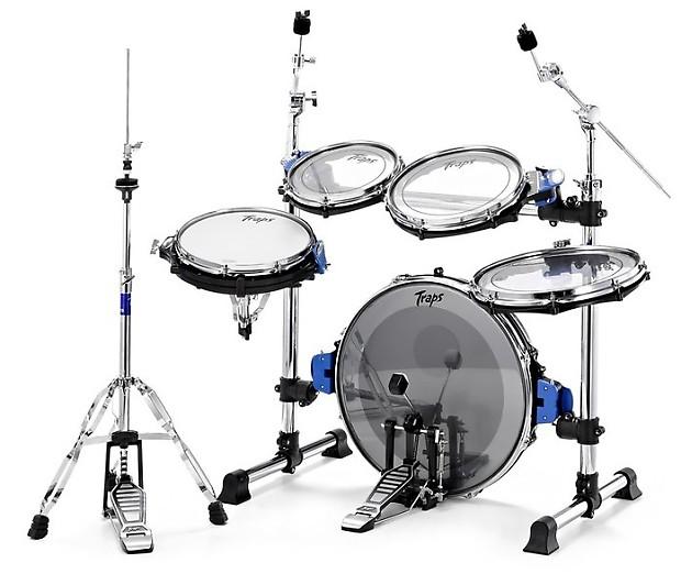 traps a400 acoustic portable drum kit authorized dealer reverb. Black Bedroom Furniture Sets. Home Design Ideas