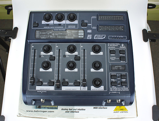 DRIVERS FOR BEHRINGER BCA2000 ASIO