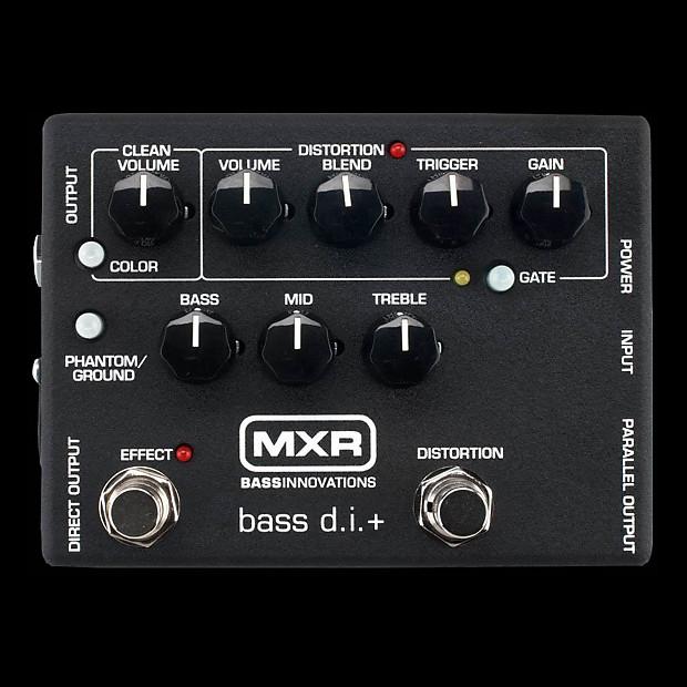 mxr m80 bass di distortion alto music reverb. Black Bedroom Furniture Sets. Home Design Ideas
