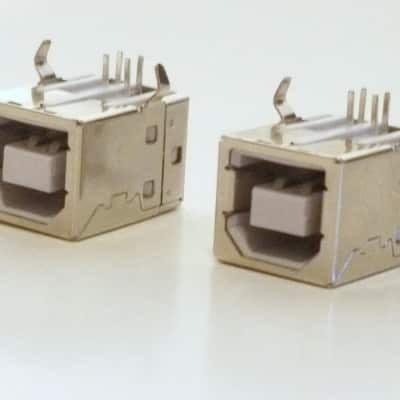 2 x USB Jacks Replacement for Akai, Alesis, M-Audio, Roland, Yamaha, Korg and more!