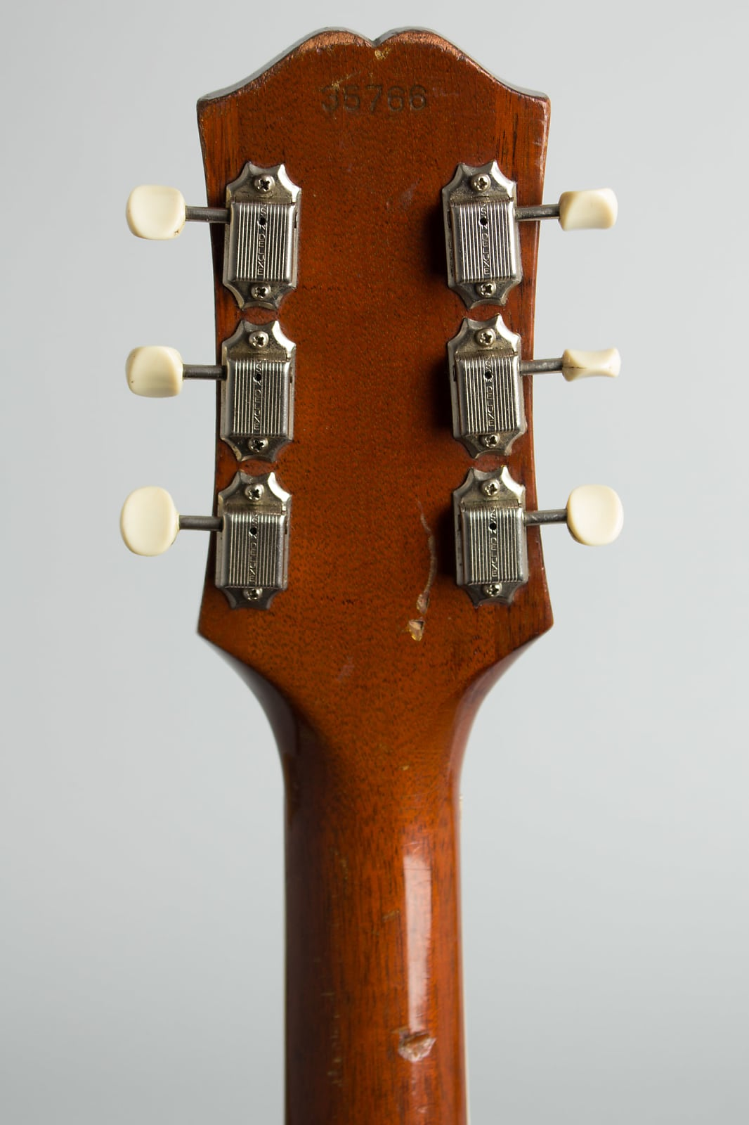 Epiphone  Casino Thinline Hollow Body Electric Guitar (1961), ser. #35766, original tan hard shell case.