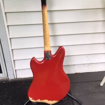 Sano double pickup solid-body 1970 Red - project? for sale