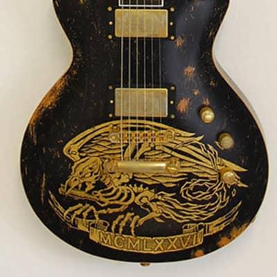 ESP Will Adler Warbird Custom Shop Distressed Black for sale