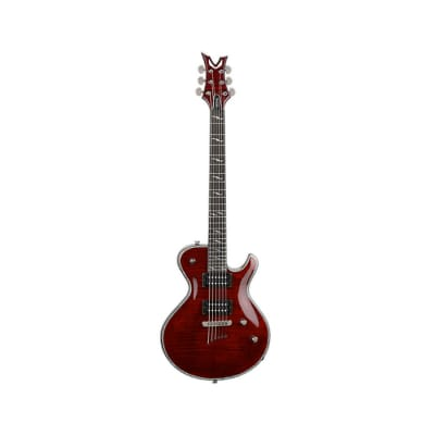 Dean Deceiver Flame Top 6-string Electric Guitar - Scary Cherry image