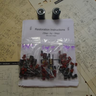 Pioneer SX D7000 D5000 FULL rebuild restoration recap service kit fix repair capacitor