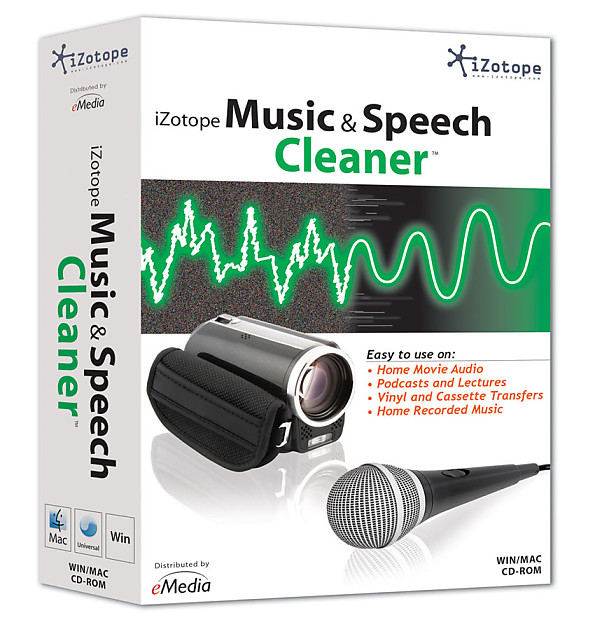 iZotope Music & Speech Cleaner Complete Toolkit to Improve Audio Files