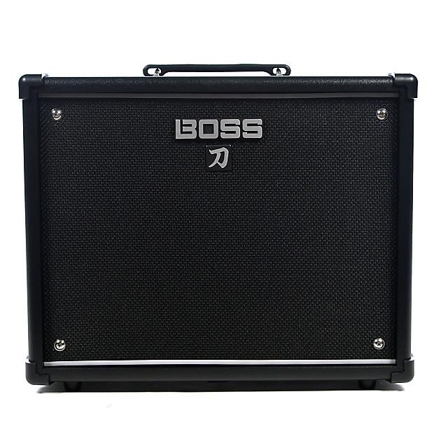 boss katana ktn 50 50w 1x12 guitar combo amplifier black reverb. Black Bedroom Furniture Sets. Home Design Ideas