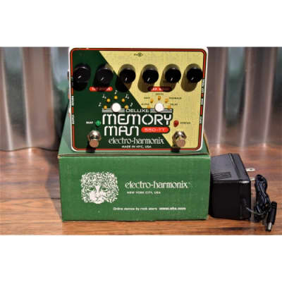 Electro-Harmonix EHX Deluxe Memory Man 550-TT Delay Guitar Effect Pedal