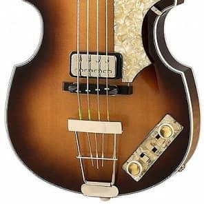 Hofner 1962 Vintage H500/1-62-O Sunburst Finish Vintage '62 Violin Bass w/ case for sale