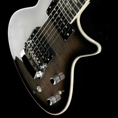 Hagstrom Ultra Swede Electric Guitar, Cosmic Black Burst. Brand New!