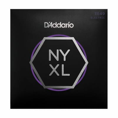 D'Addario NYXL1149 Nickel Wound Electric Strings - 11-49 Medium
