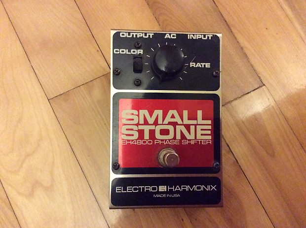 Electro-harmonix small stone phaser dating