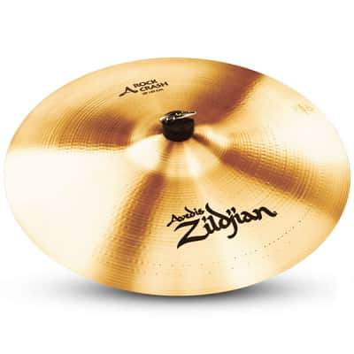 "Zildjian A0252 18"" A Series Rock Crash Drumset Cymbal with High Pitch & Bright Sound"