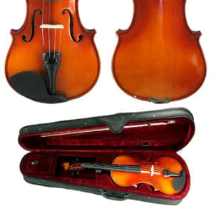 Harmonia Vc006 1/8 Scale Student Violin with Case | Reverb