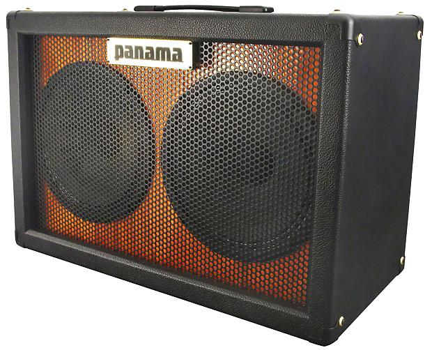 panama guitars 2x10 guitar speaker cabinet w custom british reverb. Black Bedroom Furniture Sets. Home Design Ideas