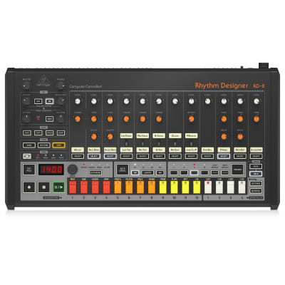 """Behringer Classic Analog Drum Machine with 16 Drum Sounds, 64 Step Sequencer, Wave Designer and Dual-Mode Filter"""