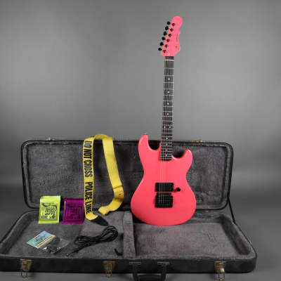 G&L Rampage 1980's Salmon Pink w/ Hardshell Case + Free Extras USA American