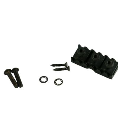 Floyd Rose FR-NL6/B/P Left Hand Locking Nut - L6 - Black