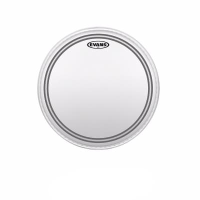 """Evans 15"""" EC2S Frosted Batter Drumhead"""