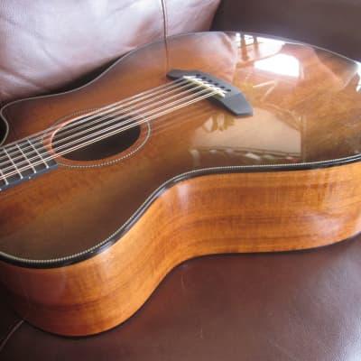 Breedlove Oregon Concerto 12-String CE  Acoustic Electric Guitar Bourbon