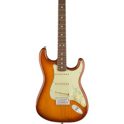 Fender American Performer Stratocaster Honey Burst Rosewood Fingerboard With Gig Bag for sale