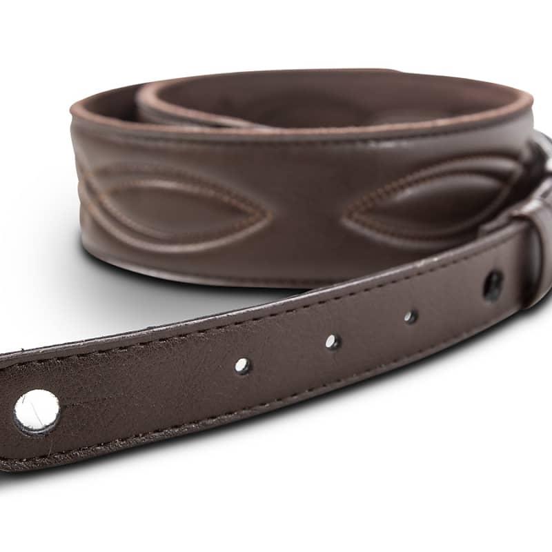 Taylor Strap, Vegan Leather, Chocolate Brown, 2