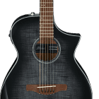 Ibanez AEWC 6Str Acoustic/Electric Guitar - Transparent Black Sunburst High Gloss image