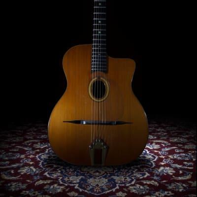 Guitare manouche Pierre Anastasio Small soundhole 1991 for sale