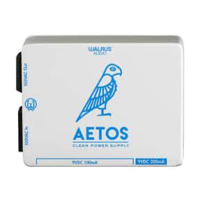 Walrus Audio Aetos 8 Output Power Supply, White/Blue (Gear Hero HQ Exclusive)