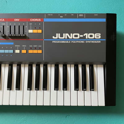 Roland Juno-106 Excellent working condition, serviced and calibrated. 110~240V