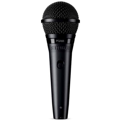 """Shure PGA58 Dynamic Vocal Microphone, With 1/4"""" Cable"""