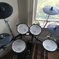 Roland TD4SX V-Drums Electronic Drumset w/ Accessories