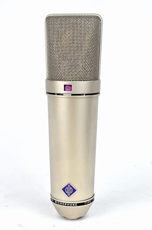vintage neumann u87 condenser microphone mic only reverb. Black Bedroom Furniture Sets. Home Design Ideas