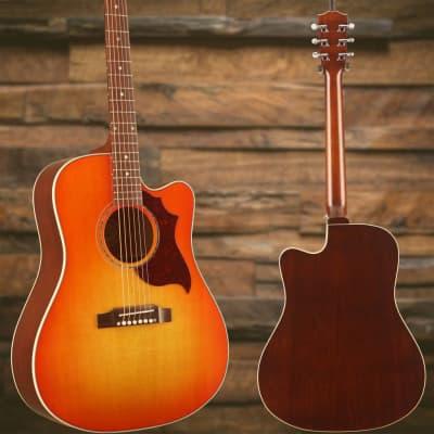 Gibson Hummingbird AG Mahogany Burst