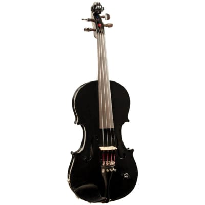 Barcus Berry Bb Acoustic Electric Violin Black