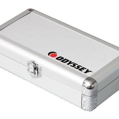 Odyssey KCC4PR2SL KROM PRO2 4x Turntable Needle Cartridge Travel Case SIlver