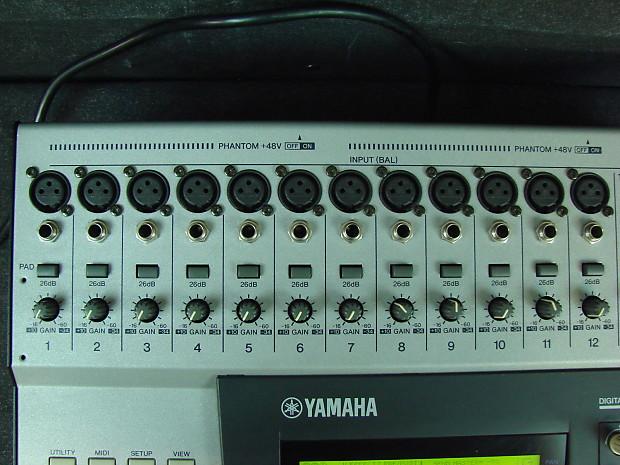 yamaha o1v digital mixer programmable mixing console 16 reverb. Black Bedroom Furniture Sets. Home Design Ideas