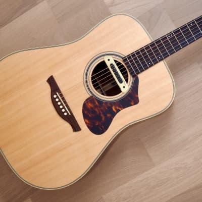 2017 History NT-L4 Square Shoulder Dreadnought Acoustic Guitar Near Mint w/ Case, LR Baggs M80 for sale