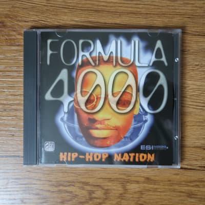 E-MU Sound Central Formula 4000 Hip-Hop Nation Sample CD-ROM