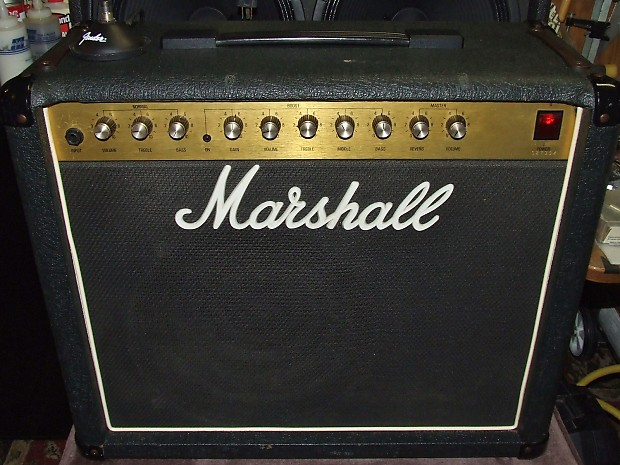 marshall 5210 solid state 1984 black gold combo amp 50 reverb. Black Bedroom Furniture Sets. Home Design Ideas