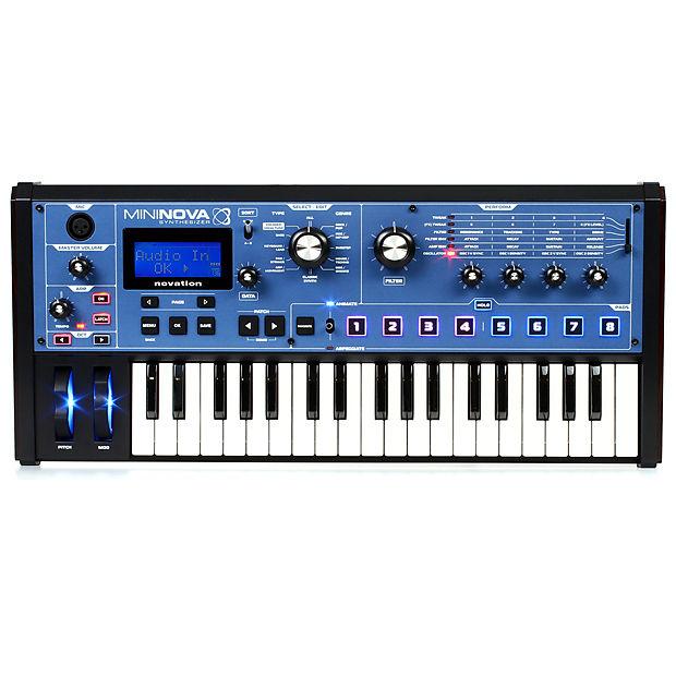 Novation MiniNova | Micro Synthesizer with Powerful Sound Engine & Effects