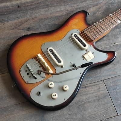 1960's Guyatone LG-65T Vintage Electric Guitar (Sunburst) for sale