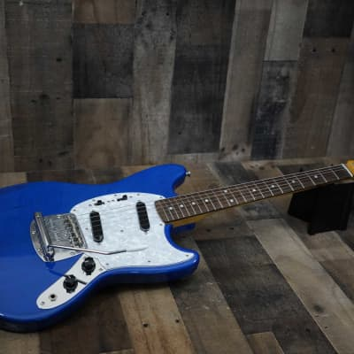 Fender MIJ Traditional 70s Mustang with Rosewood Fretboard 2017 Sapphire Blue Transparent Japan