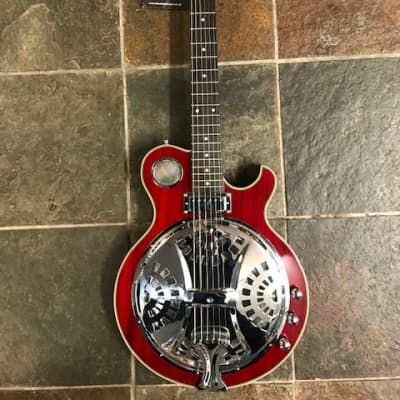 Alden AD Res Electric Resonator Red for sale