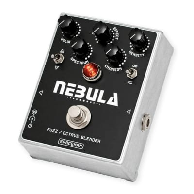 Spaceman Effects Nebula Fuzz & Octave Pedal (Silver Edition) image