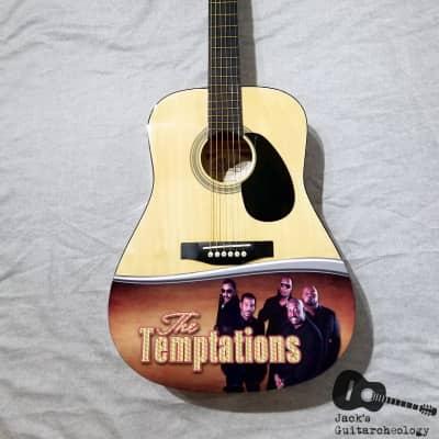 Copley Commemorative Temptations Acoustic Guitar (2000s, Natural) for sale