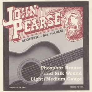 John Pearse Strings Acoustic Strings 12-String Phosphor Bronze Light 10-47