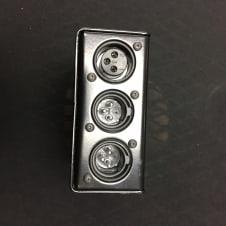Radial HotShot DM-1  Black DM1 Dynamic Mic Selector - Mute Talkback footswitch