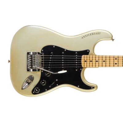 Fender 25th Anniversary Stratocaster Porsche Silver #259923 1979 for sale