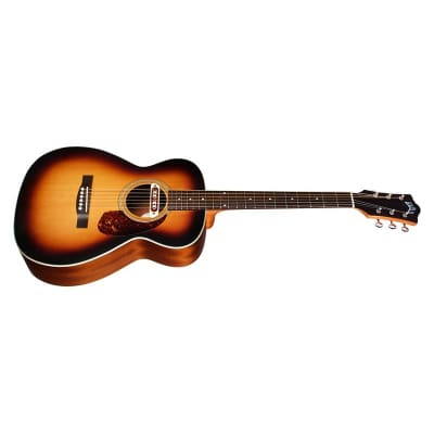 Guild M-240E Troubadour Westerly Concert Electro Acoustic, Sunburst for sale